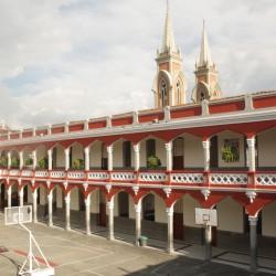 Patio María Auxiliadora - Vista desde el 2 piso