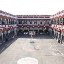 Vista frontal patio María Auxiliadora